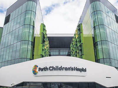 client perth childrens hospital