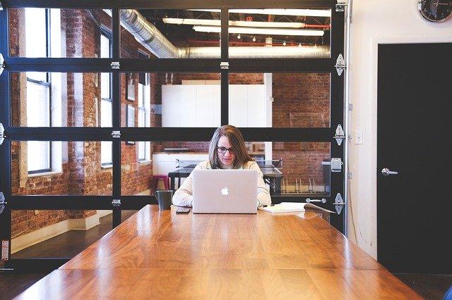 employee in boardroom